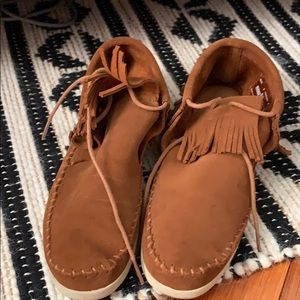 Minnetonka Tassel Booties